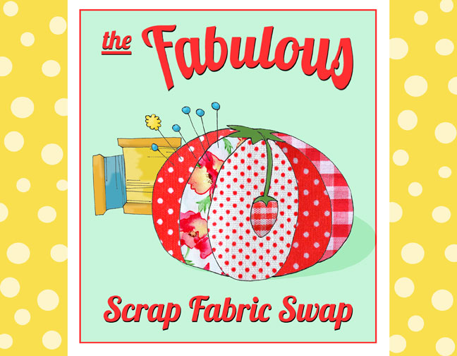 The Fabulous Scrap Fabric Swap