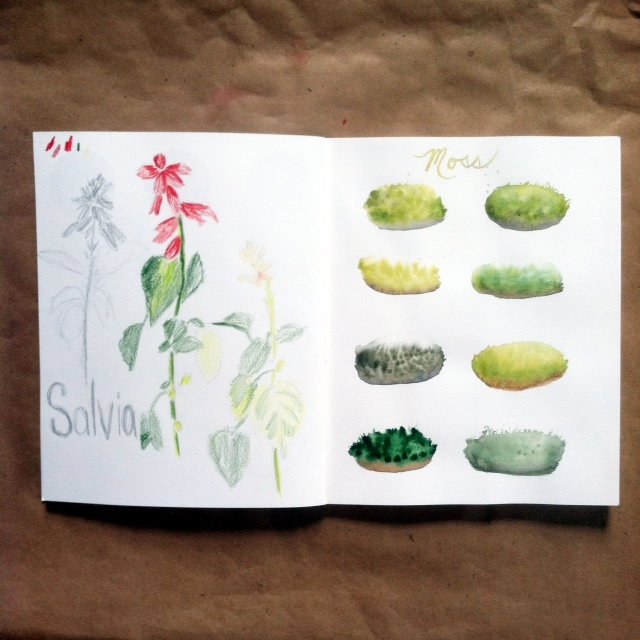 2x2 Sketchbook Week 9