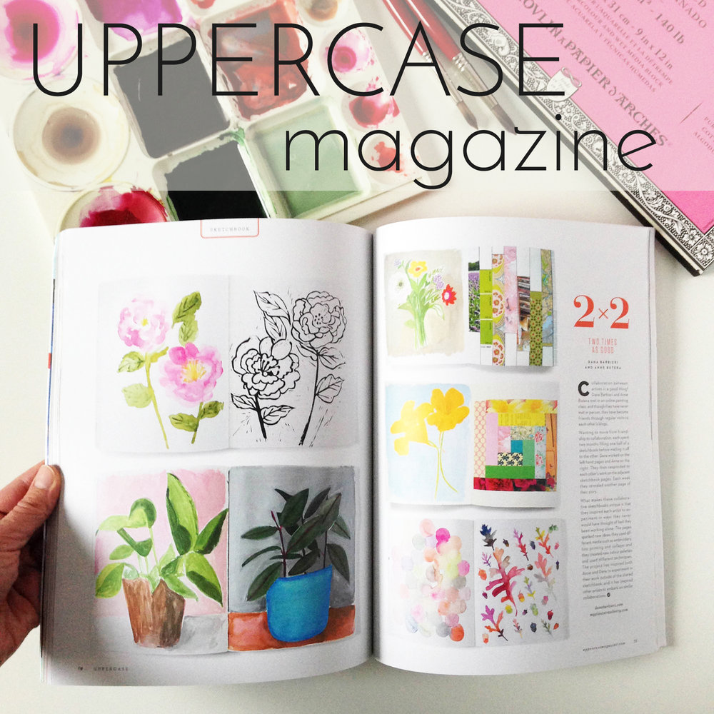 Anne Butera in Uppercase Magazine