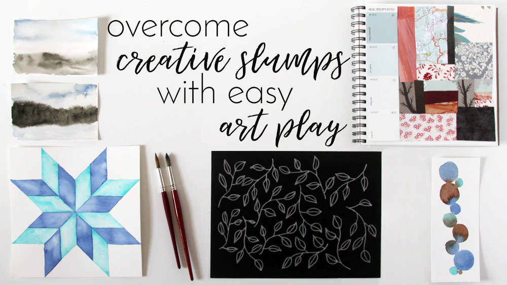 Overcome Creative Slumps with Easy Art Play