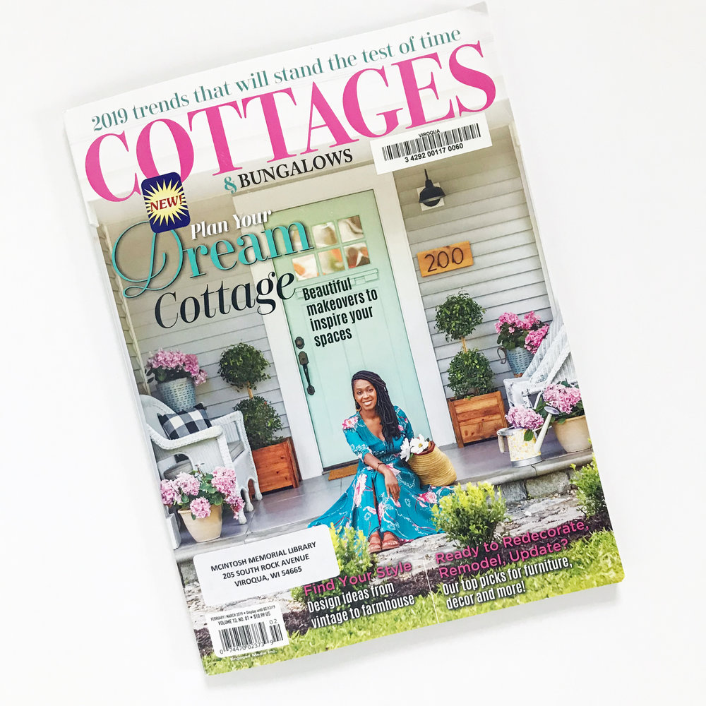 The February/March 2019 Issue of Cottages and Bungalows Magazine