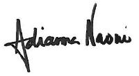 Adrianna Naomi Signature