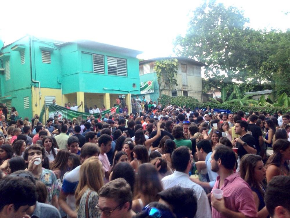 Navidades en Puerto Rico @  La Cuevita's  Christmas party.