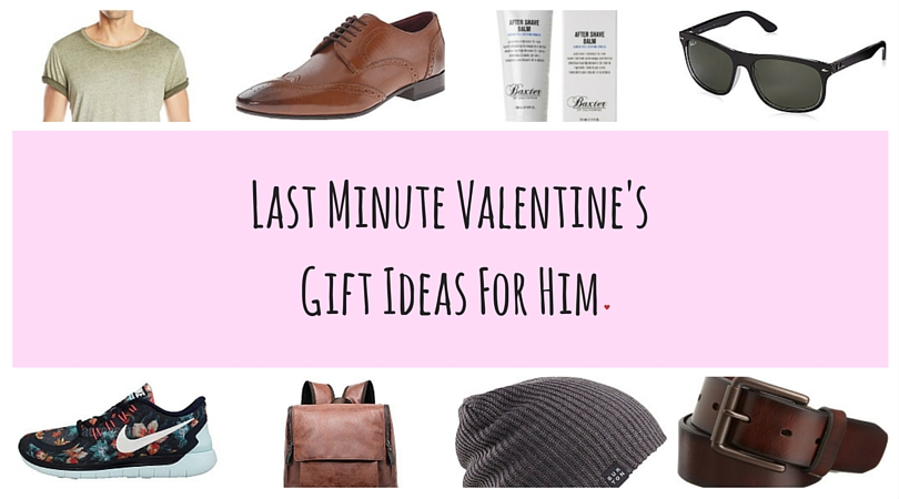 Last Minute Valentine's Gift Ideas for Him