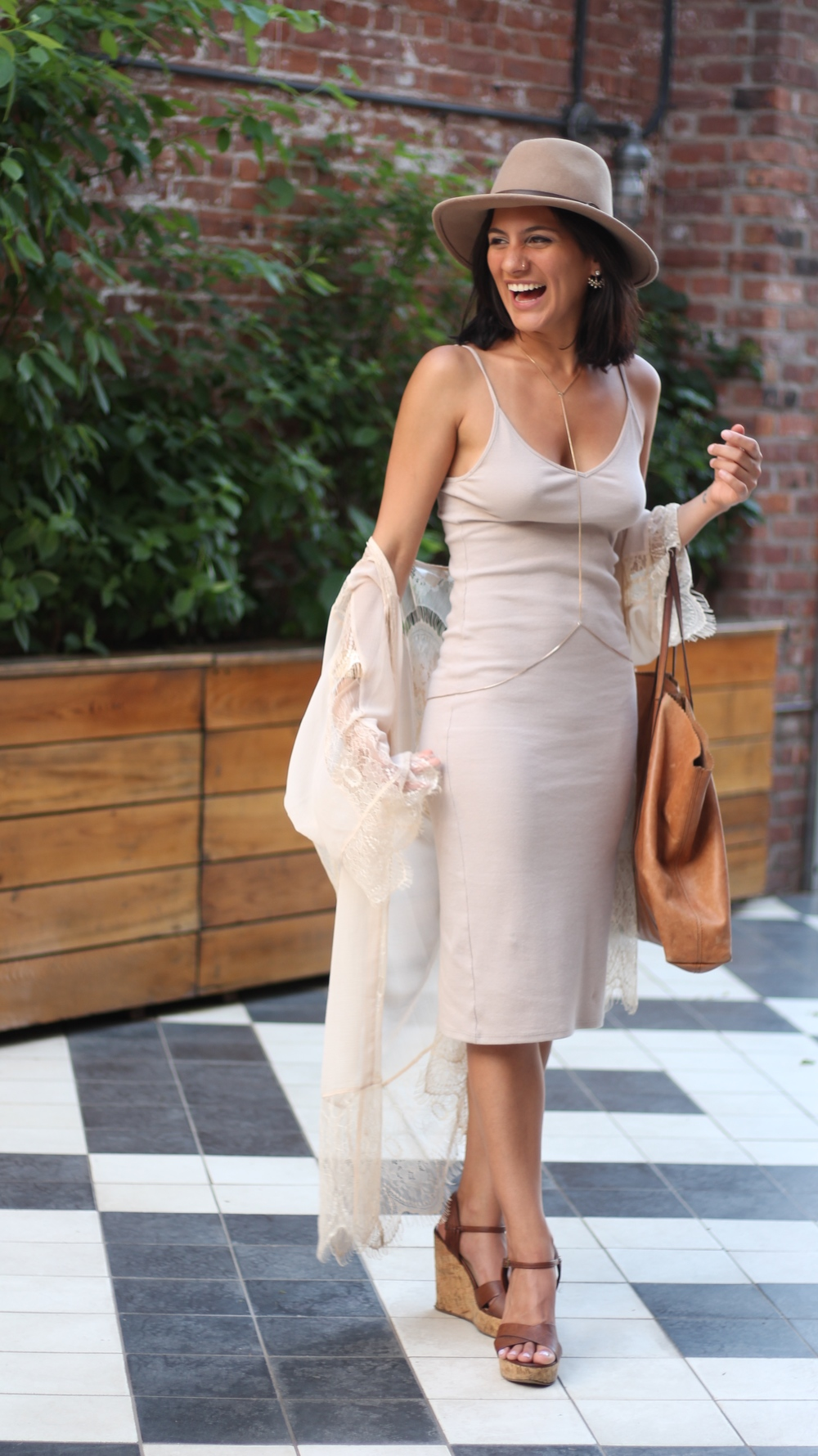 Nude Color Dress