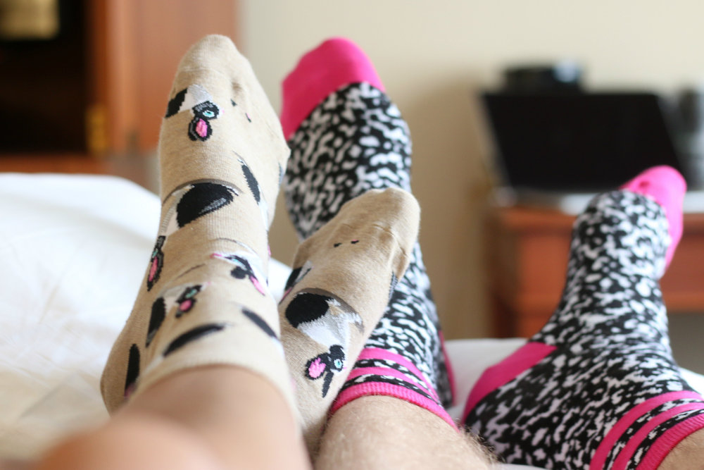 Gotta love our Hot Sox socks! Shop their Women's and Men's shop here and here!