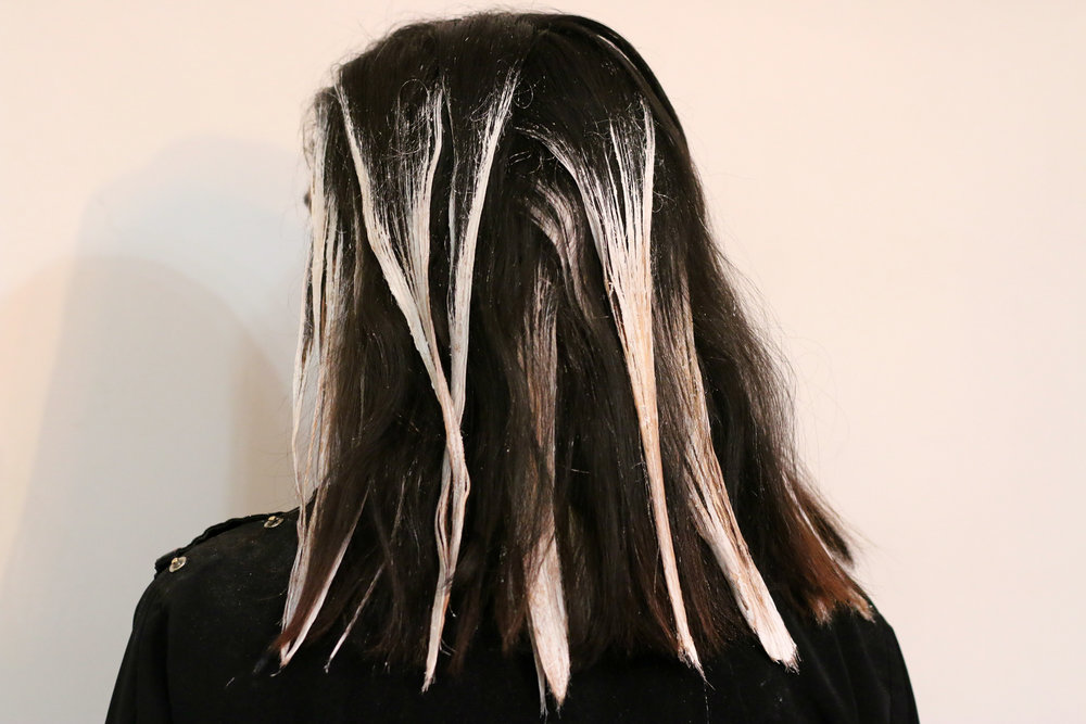 My Hair Painting Experience at O&M NYC