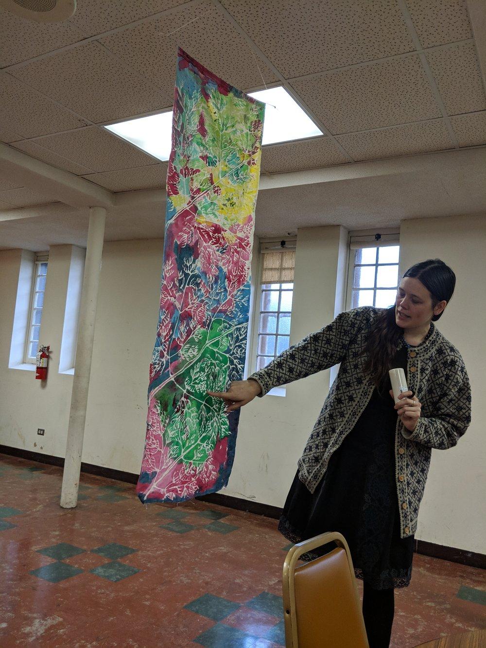 Art workshop with Katherine Parent