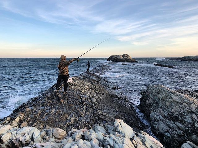 It's easy to get caught up in the hustle of summer when you own a business but sometimes you just gotta get yourself to the ocean and go fishing with your friends for a couple days to slow down and clear your head