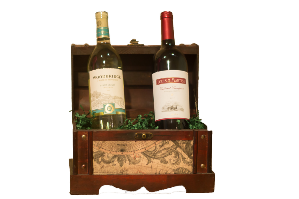Old World Wine Box