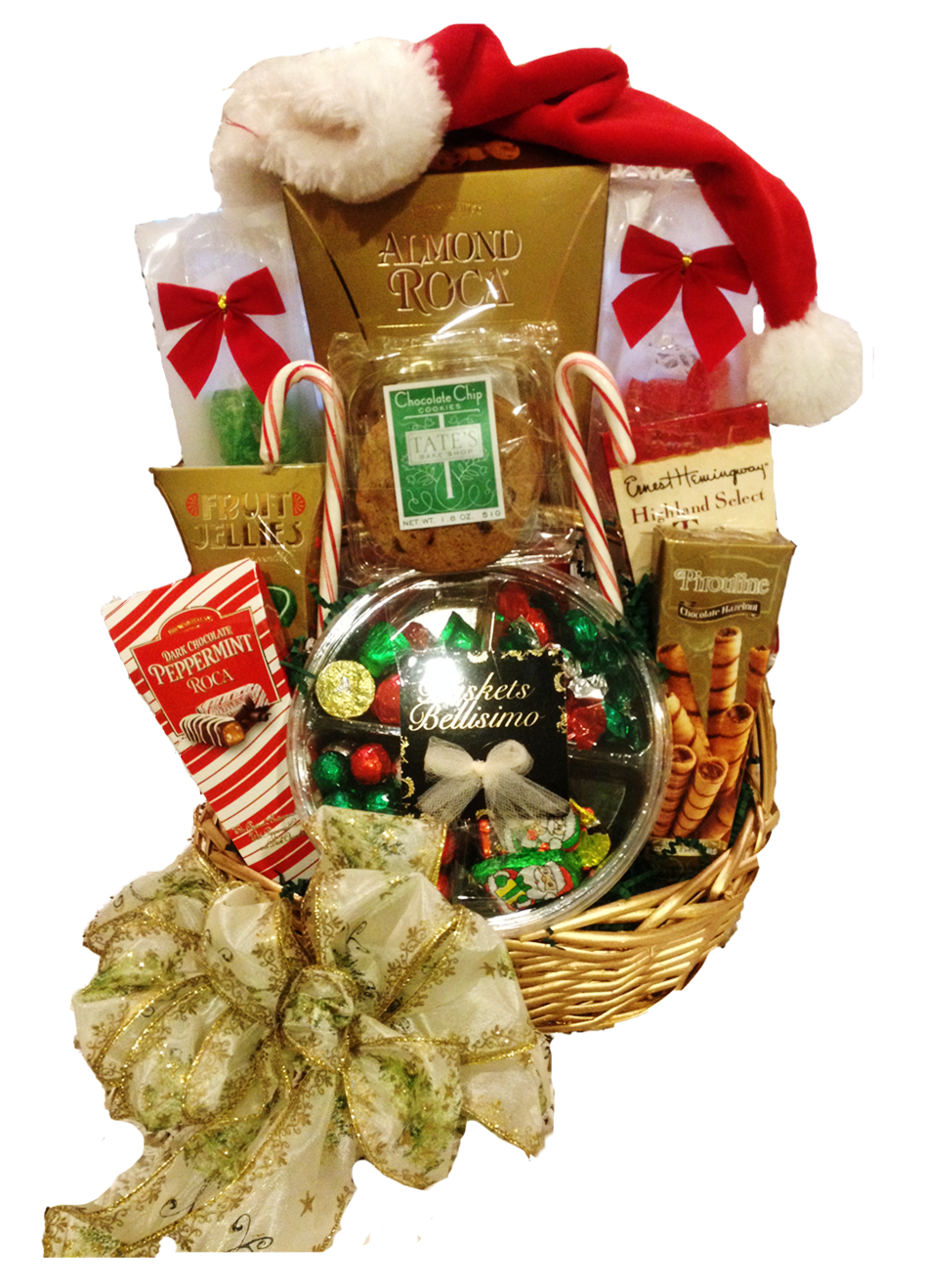 Holiday Cheer Gift Basket / $50.00