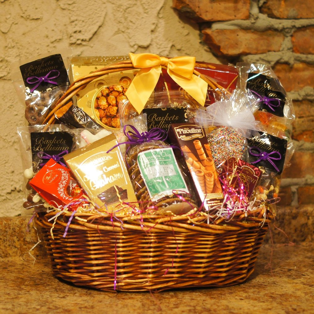 Cookies Chocolate and Candy Basket