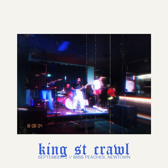 """We're real excited to be part of the King Street Crawl this year! And what better stage to be on than @sadgrrrlsclubau """"Not Just Grrrls"""" at @misspeachessoulfood in Newtown?  Bring your daddy 👌🏽"""