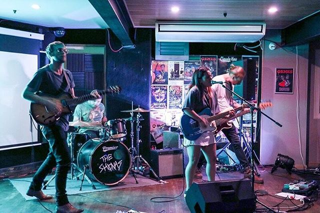 Last weekend was fun. Thanks to all the folks that came out to see us make loud noises. — 📷 @isabellasfutcher  Taken at @theloungeroom_