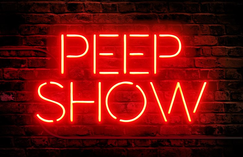 peep show  friday revival   u2014 anthony hudson    carla rossi