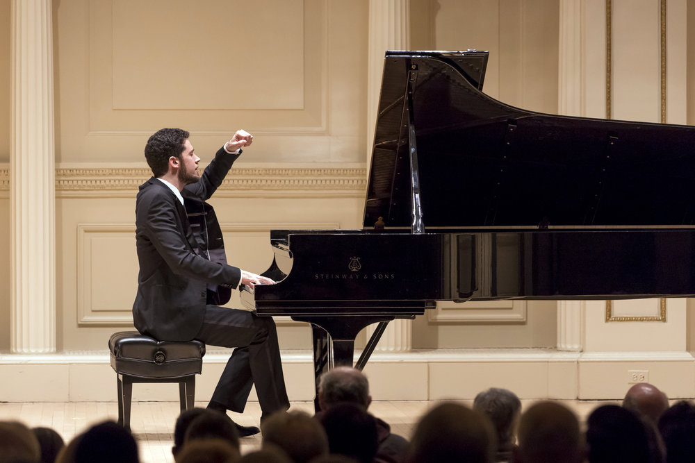 Recital in Weill Hall at Carnegie Hall
