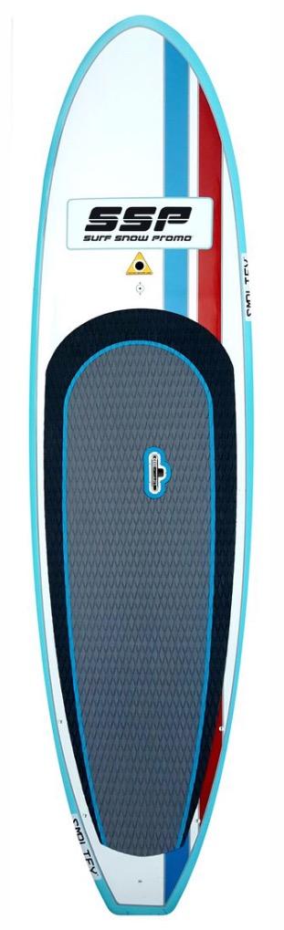 Fiberglass & Bamboo Paddleboard