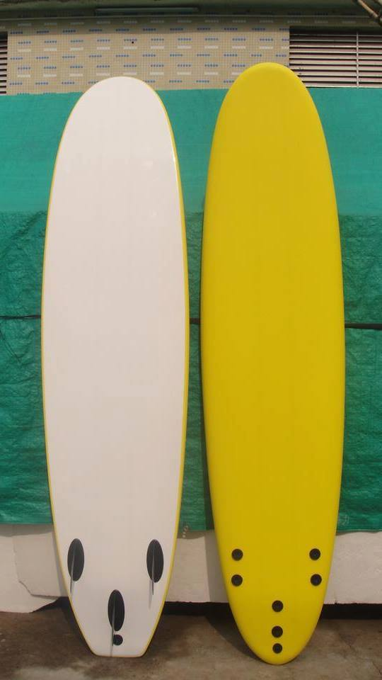 Fiberglass Surfboards