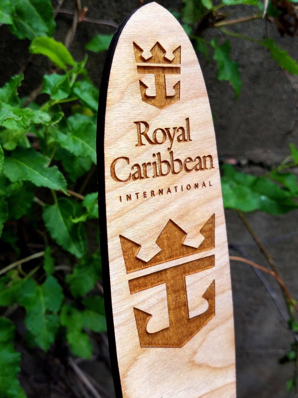Royal Caribbean Surfboard