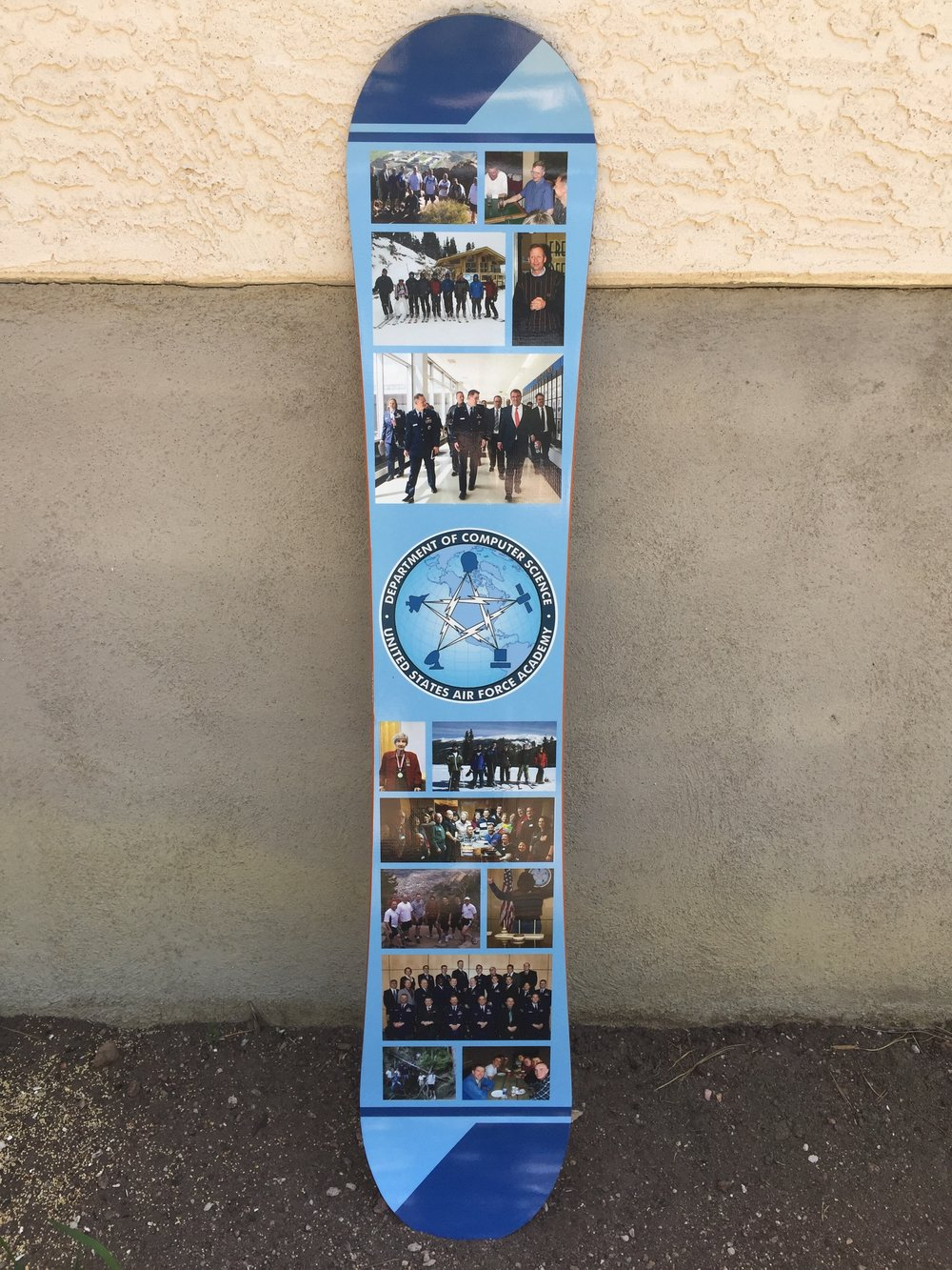 Air Force Academy Photo Snowboard