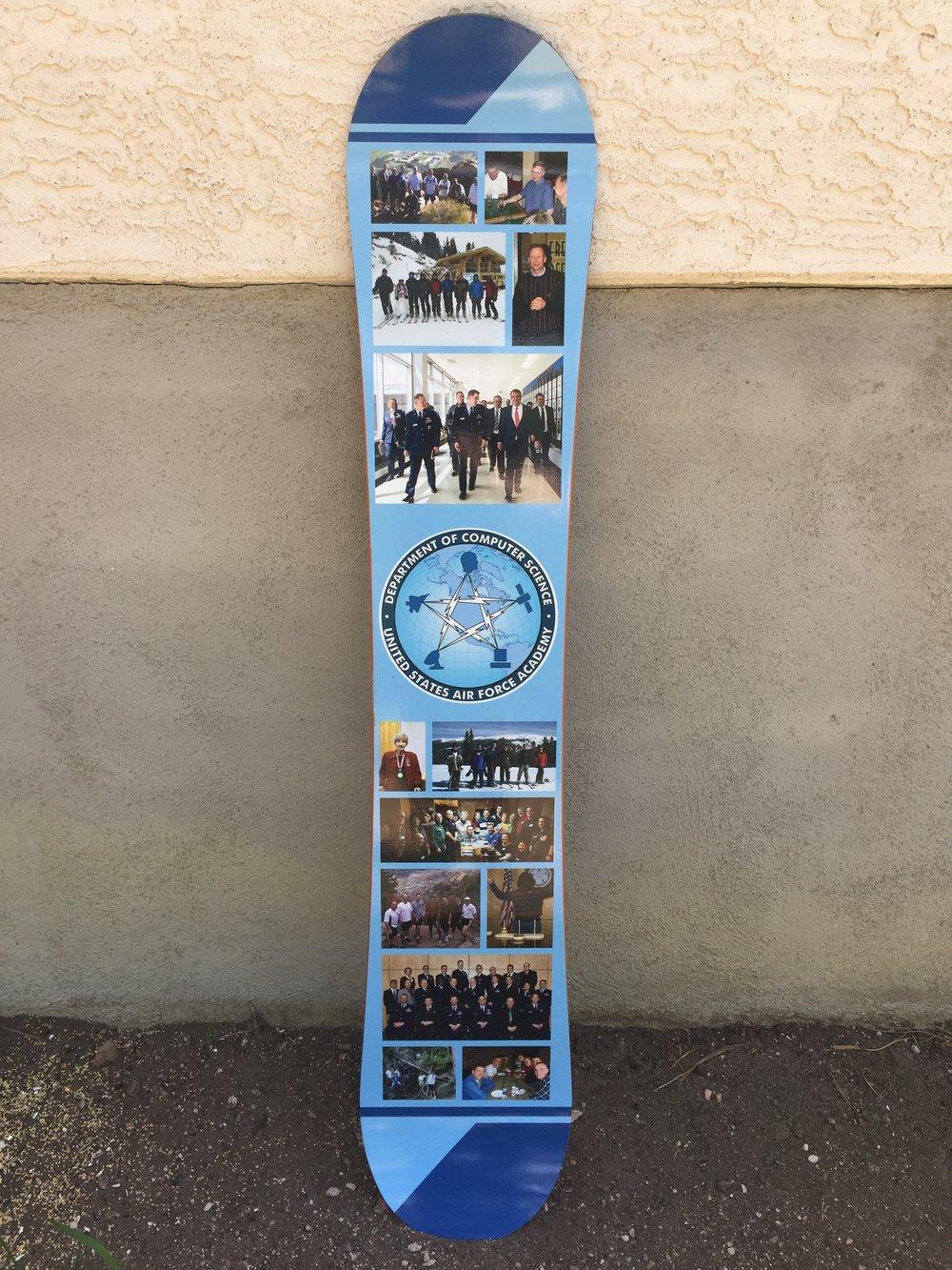Air Force Academy Photo Snowboard