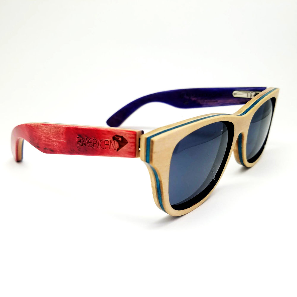 Red Sycamore SK8Glasses™ with logo