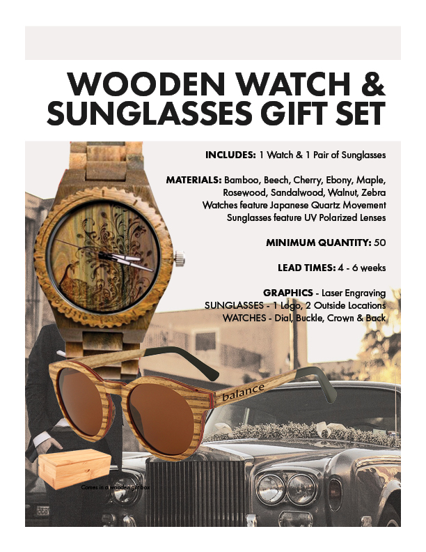 Watch & Sunglasses Gift Set