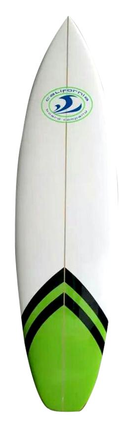 Fiberglass & Bamboo Surfboard