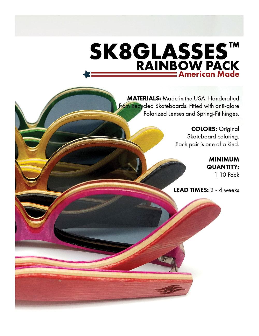 SK8Glasses™ Rainbow Pack
