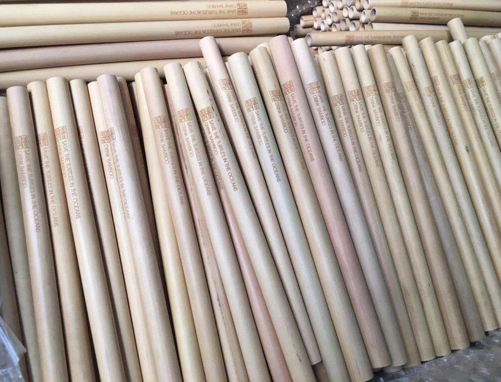 Promo Bamboo Drinking Straws