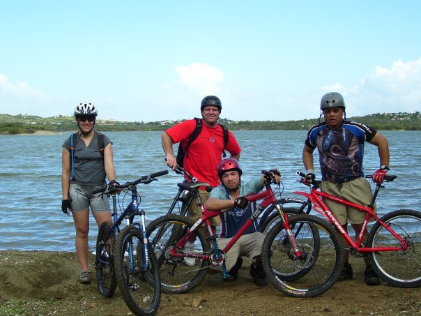 My triathlon obsestion started with Mt Biking!