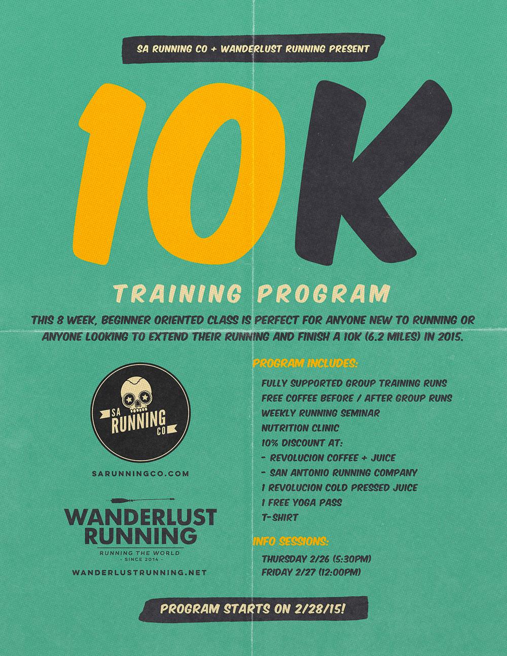 10k san antonio running program