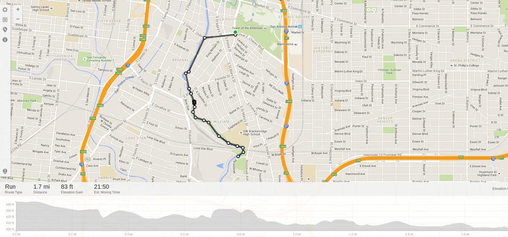 Yanaguana Riverwalk Run