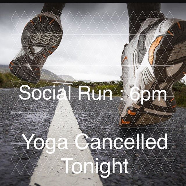Hey runners 🏃 well see you tonight at 6pm. No yoga tonight but we'll have juice samples to quench your thirst after 🙃 Let's hit the road!  #runSA #sarunningco #socialrun #satx