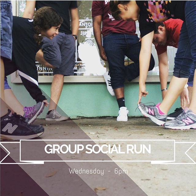 Join us tonight for our weekly free social run @ 6pm 🏃 yoga is cancelled but enjoy some refreshing juice samples after some hard work 💦#socialrun #satx #sanantonio #sarun #sarunningco #sayoga #sajuice
