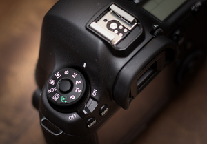 Set your camera to Manual Mode (M) or Bulb Mode (B)