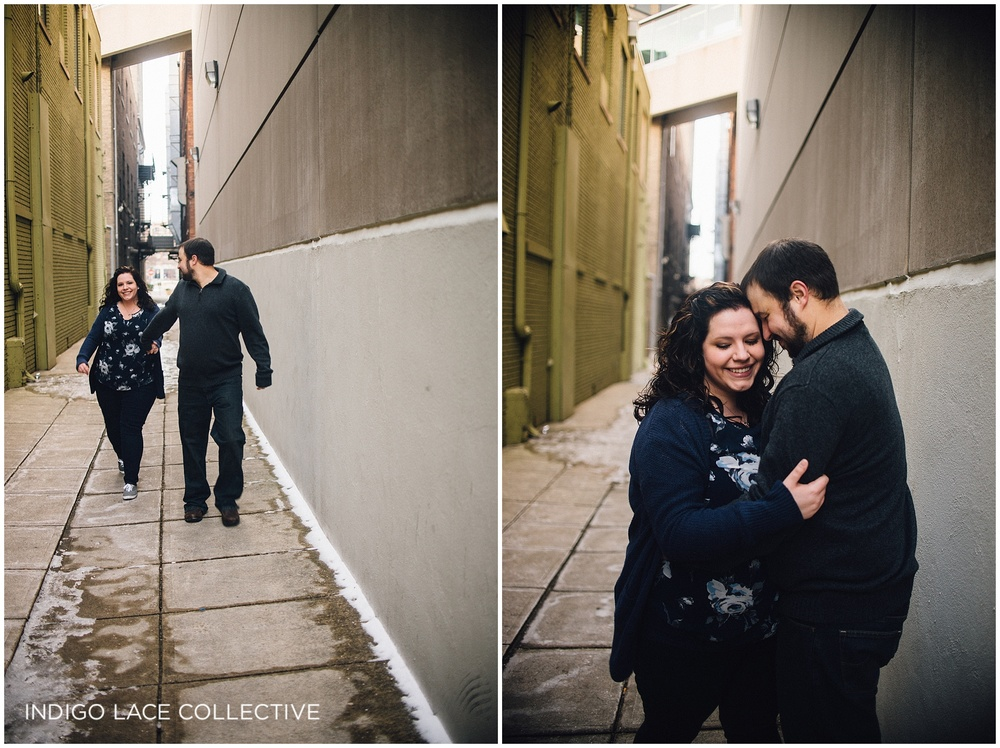 downtown_fort_wayne_engagement_winter_midwest_indiana
