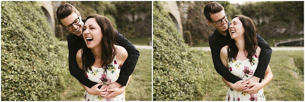 huntington-sunken-gardens-engagement-photo-couple-laughing-indiana-wedding-photographer