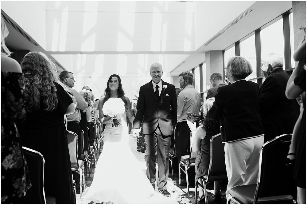 bride-groom-exit-grand-wayne-center-fort-wayne-indiana
