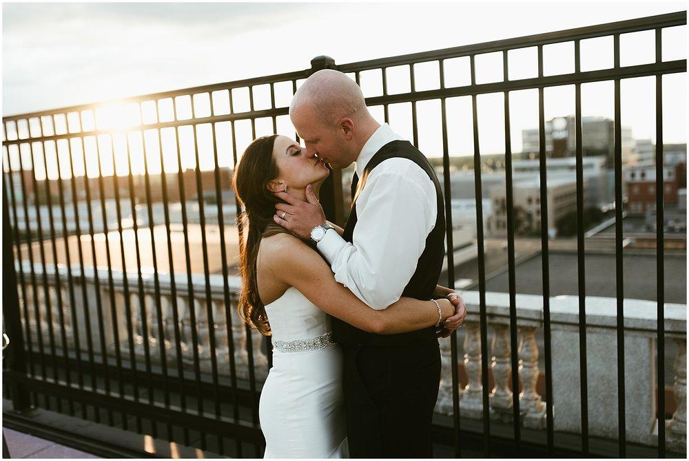 bride-groom-embassy-theatre-wedding-sunset-rooftop-bar-fort-wayne-indiana