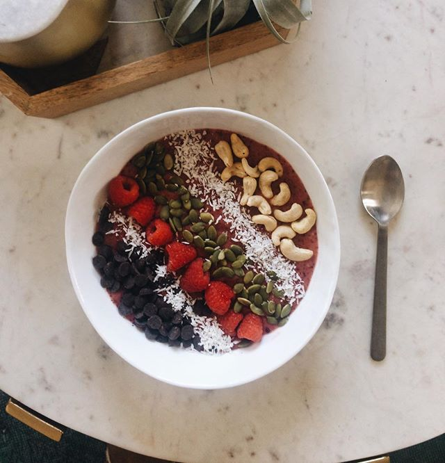Yesterday I made a nutritious smoothie bowl and today I ate an entire pint of ice cream. Balance is my strong suit.