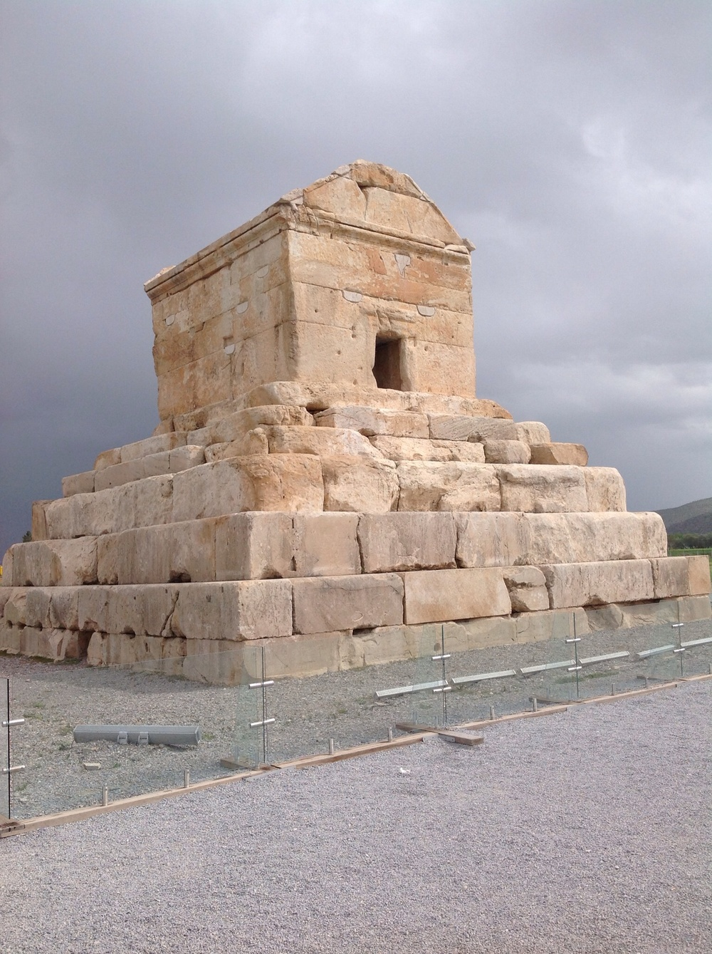 Cyrus Tomb, Shiraz Iran, April 2014