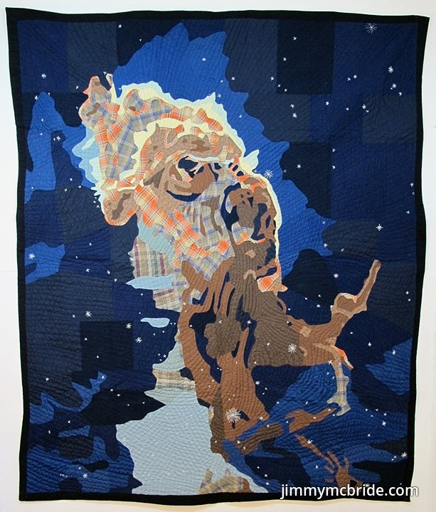 "Jimmy McBride ,     Jet in the Carina Nebula  , 73"" x 89"""