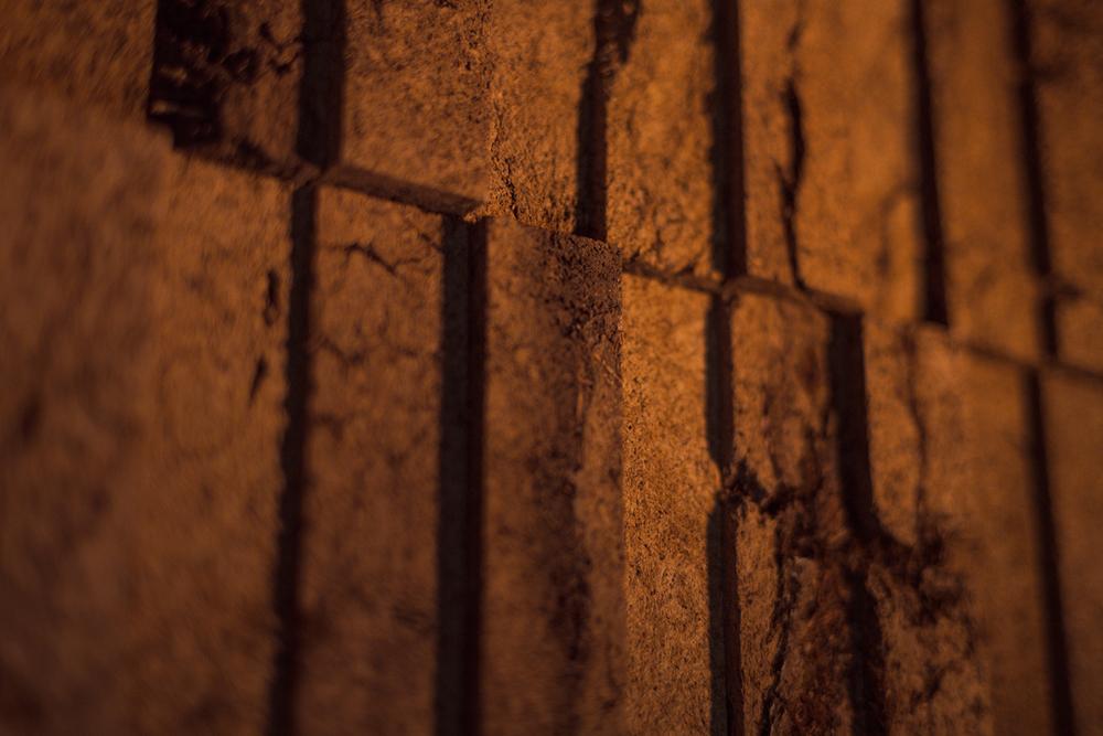 Peat Brick Formation - Detail