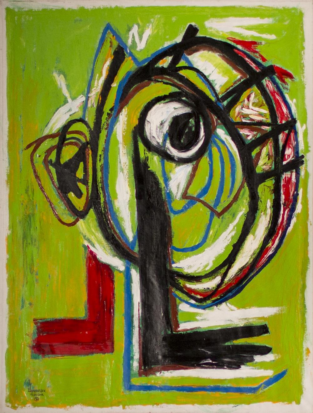 Equilibrio 146x111cm Oil on canvas 2014 3000eiro.jpg