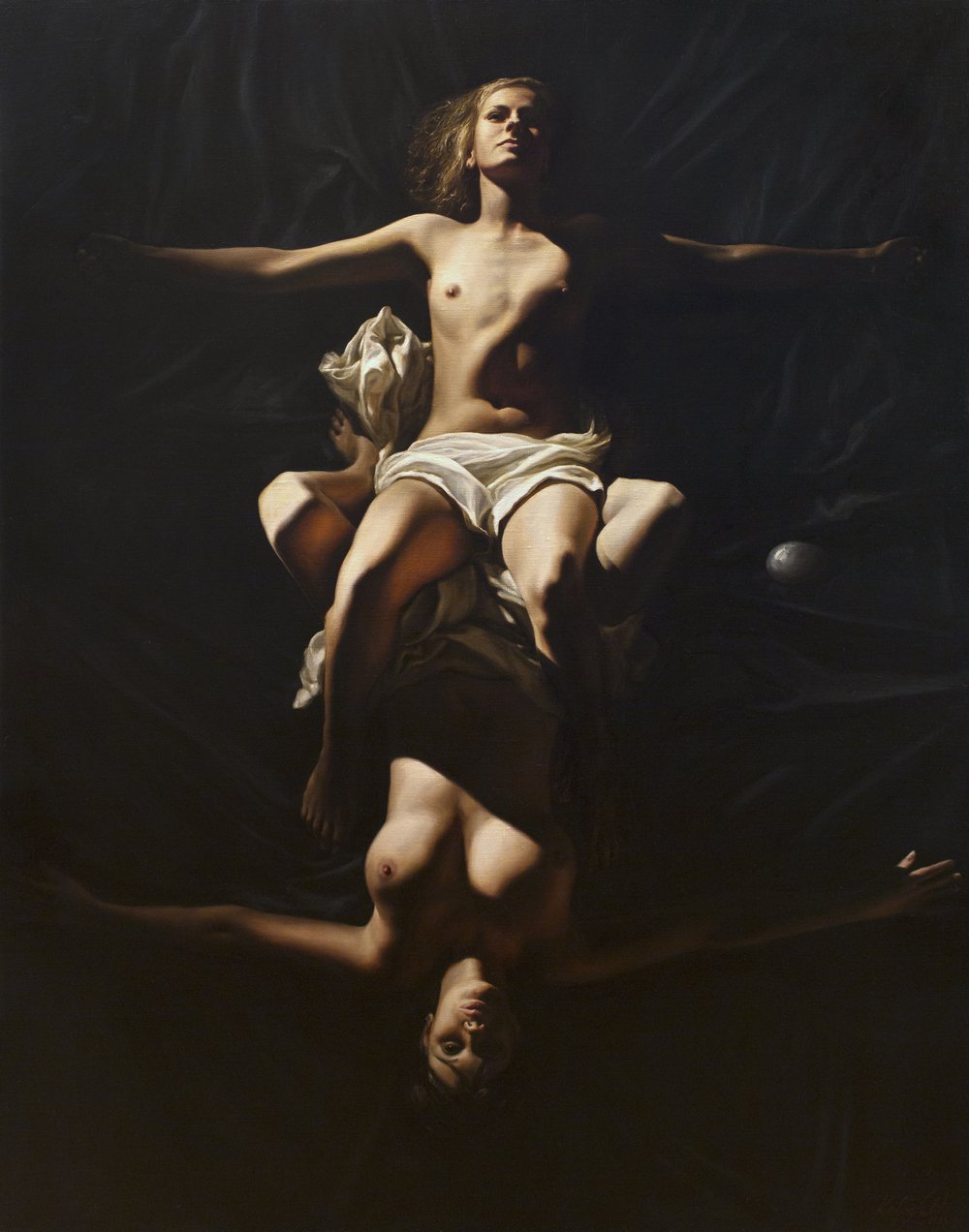 Two Graces  2013 oil on canvas 140x110.jpg