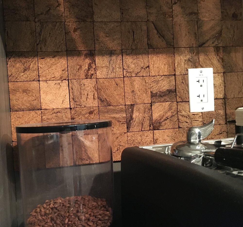 Coffee Place - Peat Bricks™ Wall