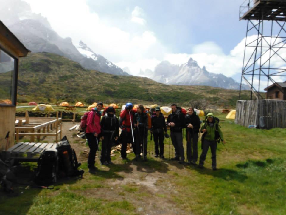 Start of the trek!