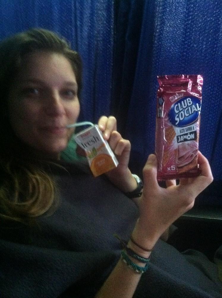 Mmmmm. Ham Crackers.