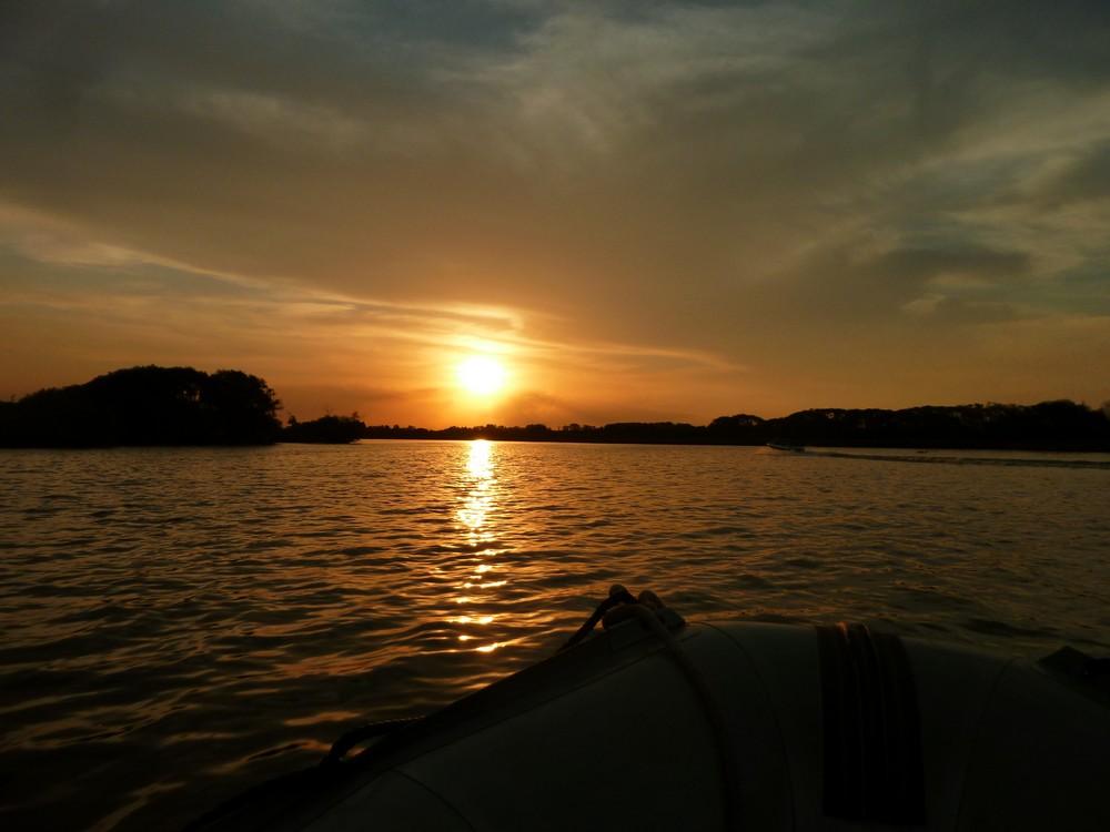 Sunset in Tigre